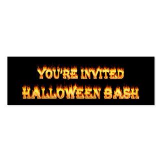 Halloween Tarjetas De Visita Mini
