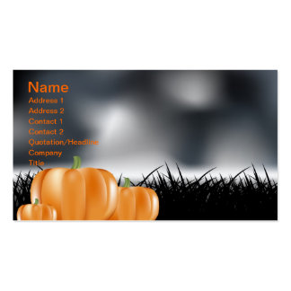 Halloween Tarjeta Personal