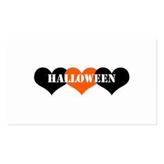 Halloween Tarjeta De Visita
