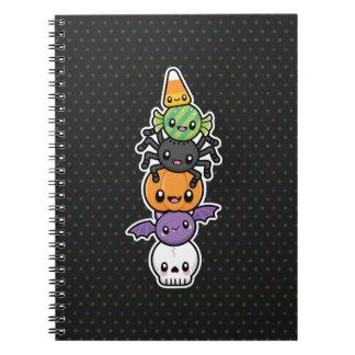 Halloween trata el cuaderno