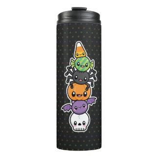 Halloween trata el vaso