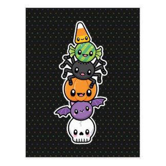 Halloween trata la postal