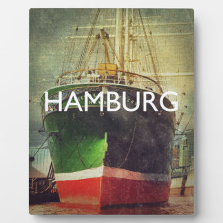 Hamburgo Placa Expositora
