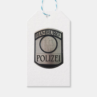 Hamburgo Polizei Etiquetas Para Regalos