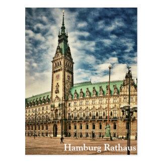 Hamburgo Rathaus, Alemania Postal