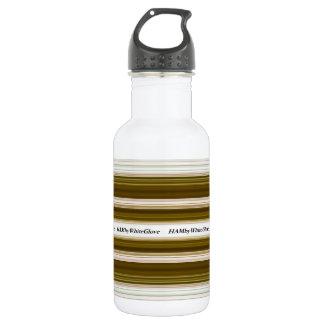 HAMbWG - botella de agua - aceituna y blanco