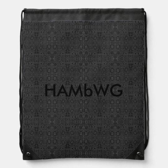 HAMbWG - mochila del lazo - carbón de leña