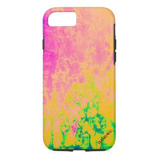 HAMbyWG - Apple IPhone y caso duro - calor rosado Funda iPhone 7