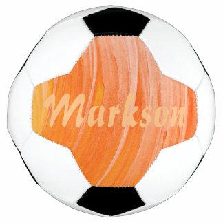HAMbyWG - balón de fútbol - remolino anaranjado