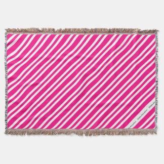 HAMbyWG - manta - rosa y blanco