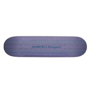 HAMbyWG - monopatín - mirada del encaje de aguja