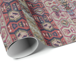 HAMbyWG - papel de regalo - rojo marrón azul