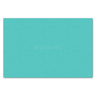 HAMbyWG - papel seda - aguamarina