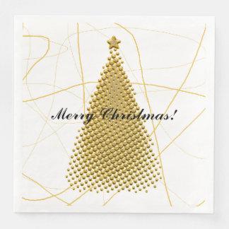 HAMbyWG - servilletas de papel - árbol de navidad