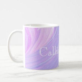 HAMbyWG - taza de café - remolino rosado violeta