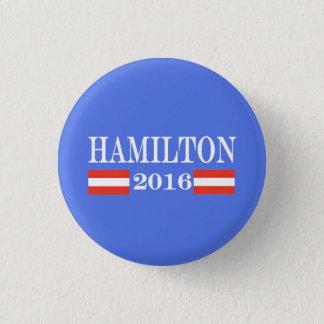 Hamilton 2016 chapa redonda de 2,5 cm