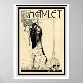 Hamlet Guillermo H. Robinson Poster 12 x 16 Póster