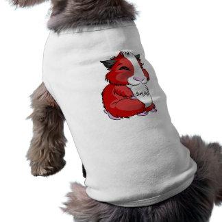 Hámster de Plooshkin Camisa De Mascota