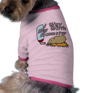 Hámster de Wittle Camiseta Con Mangas Para Perro