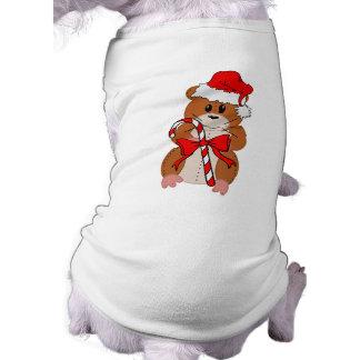 Hámster del navidad ropa de mascota
