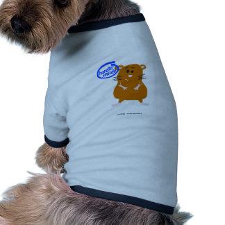 Hámster dentro ropa perro