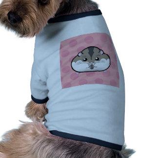 Hámster enano ruso gordo camiseta de perro