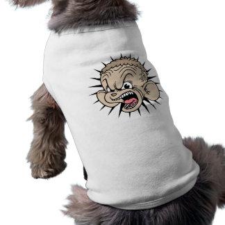 Hámster rabioso camiseta sin mangas para perro