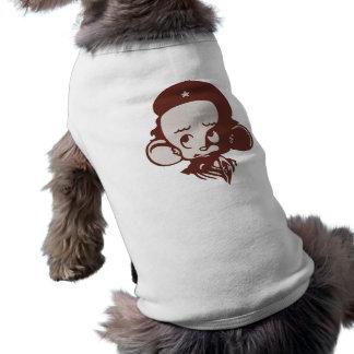 Hámster revolucionario camiseta sin mangas para perro