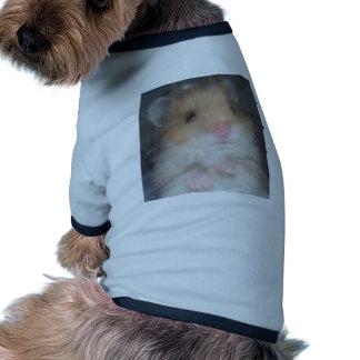 hámster camiseta de perro
