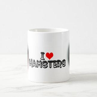 Hámsteres I (del corazón) Taza De Café