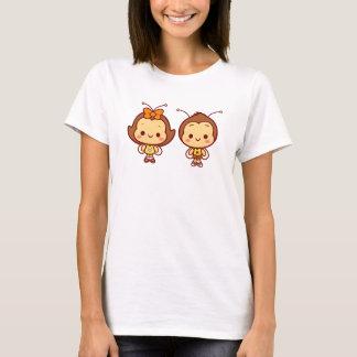 Hana y camiseta de Hachi