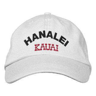 Hanalei Kauai Hawaii Gorra De Beisbol Bordada