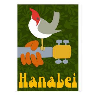 Hanalei retro postal