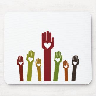 Hand2 Alfombrilla De Ratón