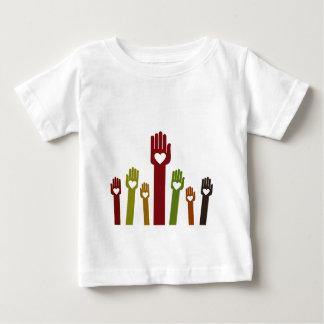 Hand2 Camiseta De Bebé