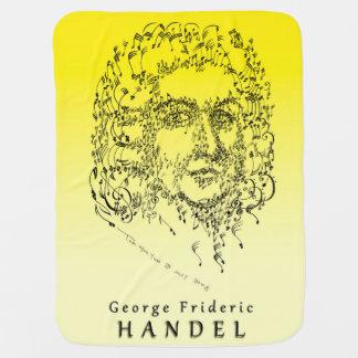 Handel: Haga frente a la música Mantita Para Bebé