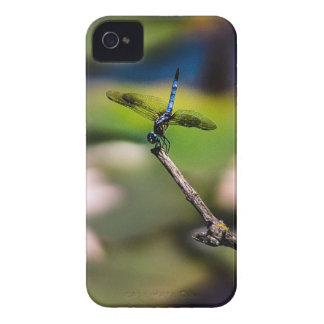 Handstand de la libélula por la fotografía de carcasa para iPhone 4