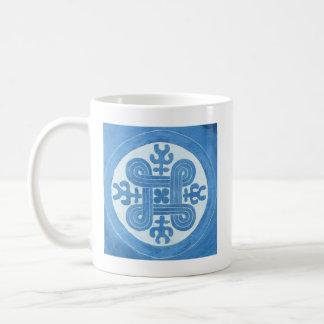Hannunvaakuna - símbolo finlandés antiguo taza de café