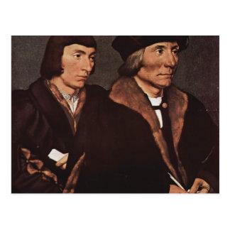 Hans Holbein - Thomas Godsalve de Norwich e hijo Postal