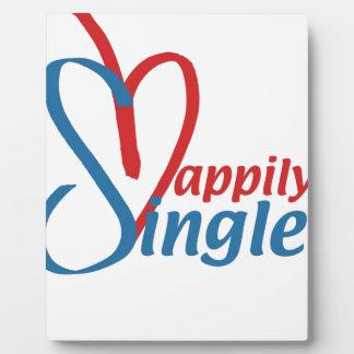 HappilySingle™ Placa Expositora
