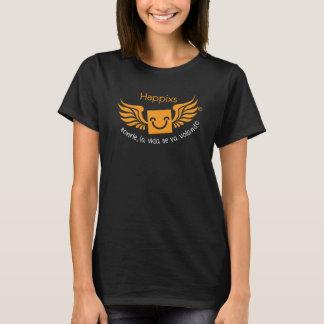 Happixs, sonrie la vida se va volando camiseta