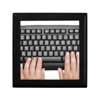 Happy  2014 keyboard message  spanish cajas de joyas