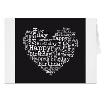 Happy birthday design tarjeta de felicitación