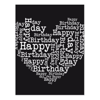 Happy birthday design tarjeta postal