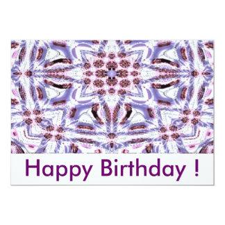 Happy Birthday! Invitación 12,7 X 17,8 Cm