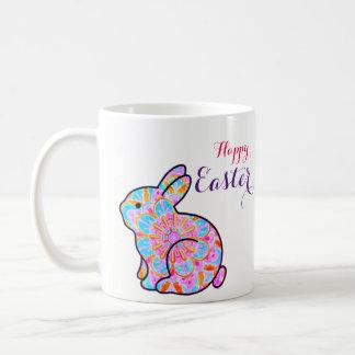 Happy Easter - mandala Taza De Café