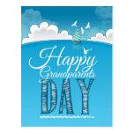 Happy grandparents day tarjeta postal