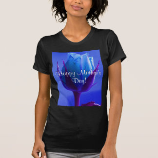 Happy Mother's Day Blue Rose I T-shirts