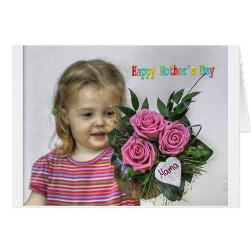Happy Mothers Day Card Tarjeton