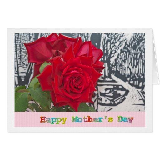 Happy Mothers Day Tarjeta